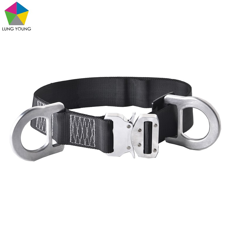 Restraint Purpose Body Belt Quick Release Buckle