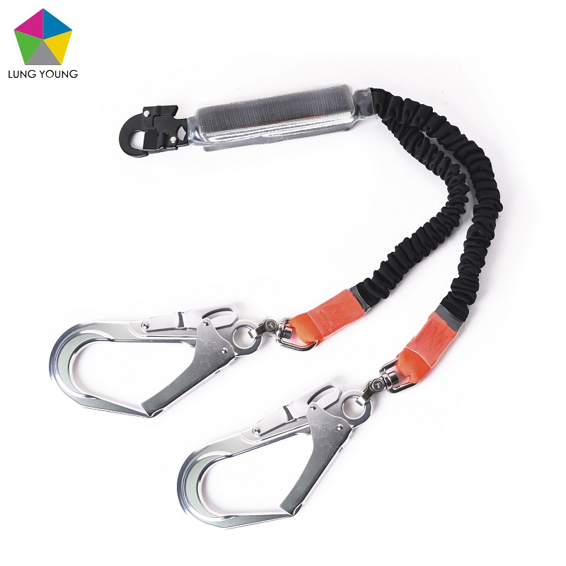 Bungetech™ Double Shock Absorbing Lanyard Sleeve Protection